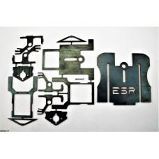 ESR 1+1 Combo Kit (Short Tire + Tall Tire + ESR HD Nose) Drag Chassis Kit