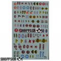 Gofer #11006 Sponsor Sheet Waterslide Decals