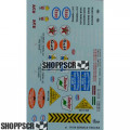 Gofer #11014 Service Trucks Waterslide Decals