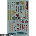 Gofer #11016 Hometown Sponsors Waterslide Decals