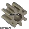 JK 8 Tooth, 48 Pitch press-on pinion gear