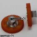 JK 45 Tooth, 80 Pitch, 2mm Bore Straight Polymer Spur Gear