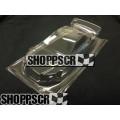 "JK 4"" Ford Fusion Stock Car Body, .007 Clear Lexan w/Mask"
