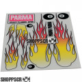 Parma Krazy Flames Decals