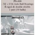 "Pro Slot 3/32"" axle ball bearings  (pair)"
