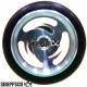 "Pro Track Ninja Series Wheelie bar wheels, 3/8"""