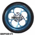 "Pro Track Magnum Series Wheelie bar wheels, 3/8"", Blue Anodized"