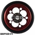 """Pro Track Magnum Series Wheelie bar wheels, 3/8"""", Red"""