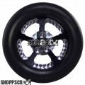 "Pro Track Evolution Series Wheelie bar wheels, 3/8"", Black"