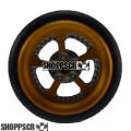 "Pro Track Evolution Series Wheelie bar wheels, 3/8"", Gold"