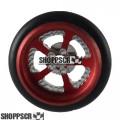 """Pro Track Evolution Series Wheelie bar wheels, 3/8"""", Red"""