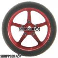 "Pro Track Pro Star Series CNC Foam Drag Front Wheels, 3/4"" x 1/4"", 1/16"" Axle, Red"