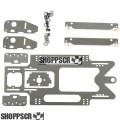 Pro Track Aluminum 1/24 Drag Chassis Kit