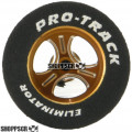 Pro Track Streeter Series CNC Drag Rears, 1 1/16 x .435, Red