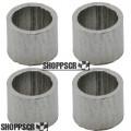 Slick 7 .100 x 3/32 Aluminum Axle Spacers