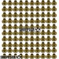 Sonic .050 brass solder-on retainers (100 pcs.)
