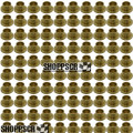 """Sonic 1/16"""" (.063)  brass solder-on retainers (100 pcs.)"""