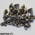 TQ screws for 16D fixes threads in endbells (24pc)