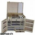 Dengler Hotel Wood Drag Slot Car Box, #29, Unfinished