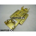 H&R 1/24 Bare Adjustable Brass Chassis
