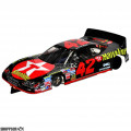 """1:24 Scale RTR, 4"""" Cheetah 21 Chassis, Hawk 7, 64 Pitch, Stock Car, Dodge Custom Body, Havoline #42 Livery"""