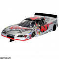 """1:24 Scale RTR, 4"""" Cheetah 21 Chassis, Hawk 7, 64 Pitch, Stock Car, Dodge Custom Body, Coors Light #40 Livery"""