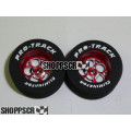 Pro Track 3/32 x 1 1/16 x .435 Red Magnum Drag Wheels